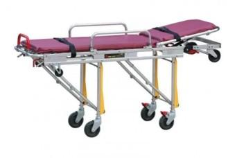 Каталка для автомобилей скорой медицинской помощи Med-Mos YDC-3А нерж. с пластиковым ложементом