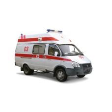 Автомобиль скорой помощи класс В на базе ГАЗель Бизнес 2705 дизель