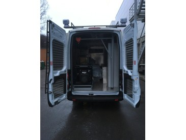 В декабре компания Стратегия-НН поставила передвижную мастерскую на базе Ford Transit для ООО Теплоэнергоналадка