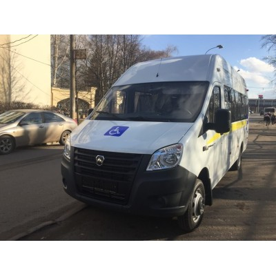 В ноябре компания Стратегия-НН поставила автобус перевозки инвалидов для города Снежинск