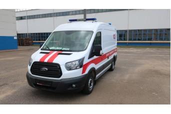 Автомобиль скорой помощи класс А - линейная на базе Ford Transit 22270А